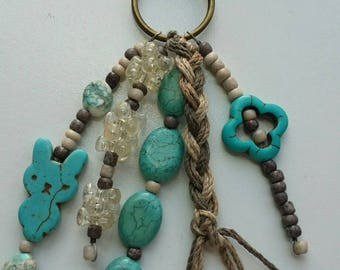 Native Turquoise Keychain/Bag Accessory