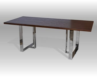 Dining table, kitchen table, high quality, veneer table top, custom size