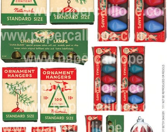 PaperCalliope - Vintage Christmas Packaging 1