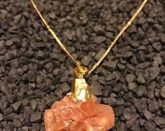 Natural Brown Aragonite Semiprecious Stone