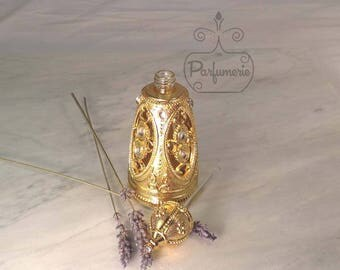 Unique AlRehab Style Old World ATTAR Oil Oud PERFUME Cologne Bottle 12ML Gift Exotic Arabian Private Label