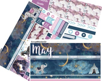 May Erin Condren Monthly Kit