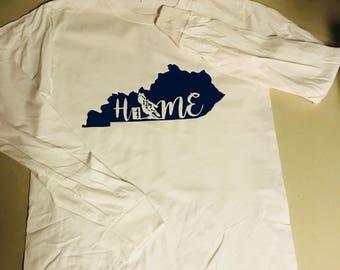 Kentucky Home Barrel Racer Long Sleeve Shirt