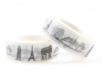 City washi tape