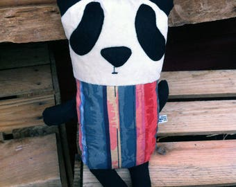 LINDA _ Panda cotton and jersey from the 80s