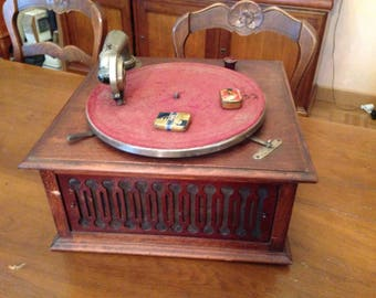 Gramophone phonograph Pathe Marconi