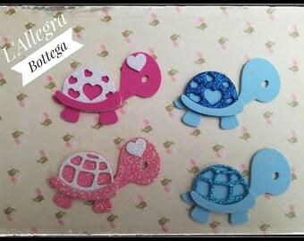 10 die/Baby turtles applications
