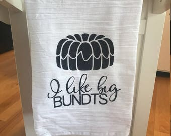 Big Bundts Tea Towel
