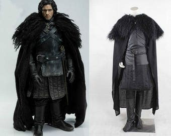 Game of Thrones Cosplay Costume Jon Snow Cosplay Knight Role