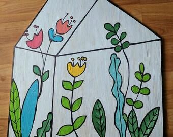 Greenhouse Door Hanger