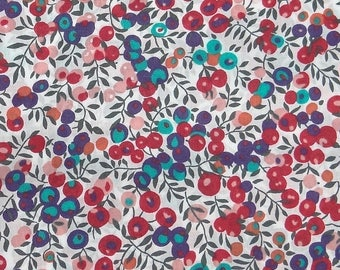 Blue and red fabric Liberty Wiltshire