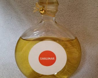 Vintage Guerlain Shalimar Eau De Cologne 6 oz