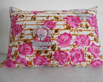 "40 cm x 60 cm wax ""Geometric"" pillow cover"
