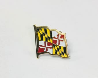 Maryland State Flag Pins