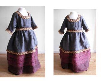 Carnival costume, princess dress, dress, Princess, Pulverturm Karnevat dress girl, deguissement, costume
