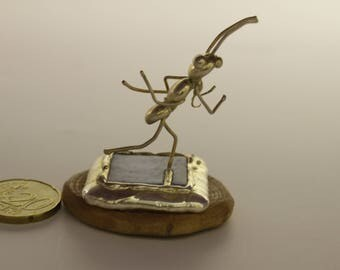 Ant runner -Tiny  Miniature,A gift for a runner,sport gift,for him,for the winner, for her, free shipping