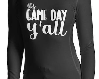 Its Game Day Y'all long sleeve shirt- football shirt- game day shirt- tailgating shirt  Long Sleeve Shirt S - 2XL