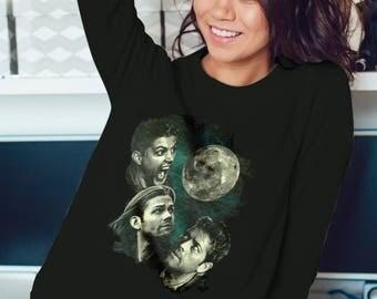Three Supernatural Moon Sweatshirt