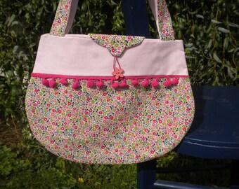 Bag pattern PomPoms liberty fairford