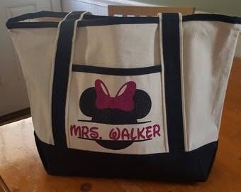 Small Customizable Tote Bag