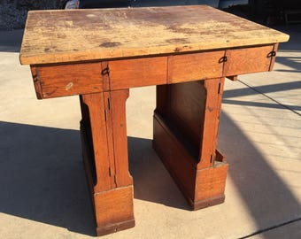 Vintage Drafting Table / Standing Desk
