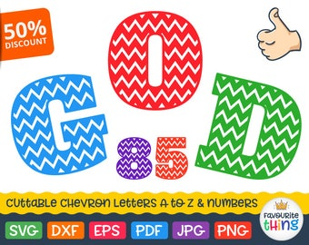 Chevron Font Svg Chevron Monogram Svg Varsity Alphabet Initial Letters Numbers Svg Cricut Font Download Svg Alphabet Silhouette Dxf Fonts
