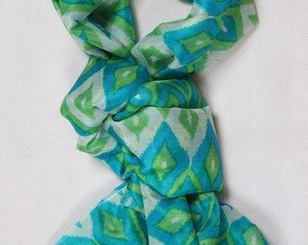 Scarf silk scarf