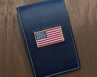 Personalized Leather Yardage Book Cover/Scorecard Holder (Design-Your-Own)