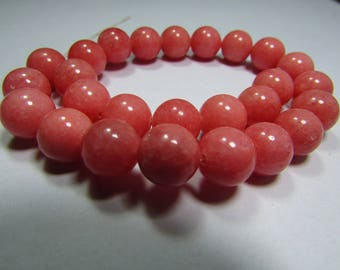 Set of 4 Jade 10 mm beads