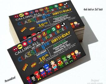 Superhero, superhero invitation, superhero invitations, superhero birthday, super hero invitation, super hero birthday invitation, invite