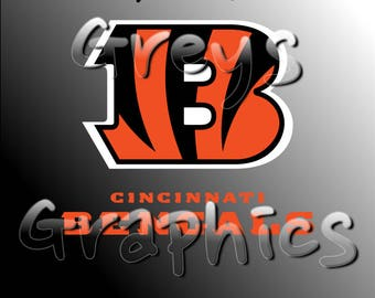 Cincinnati Bengals Primary Logo with Logotype Full Color - SVG - DXF - EPS - Vectors