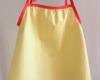 Dress yellow and pink - 6 months