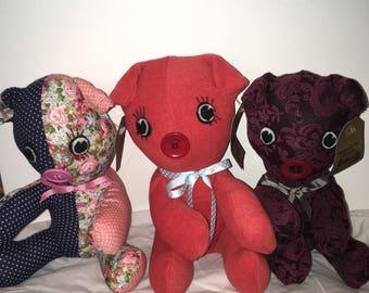 Stuffed Toy Pig