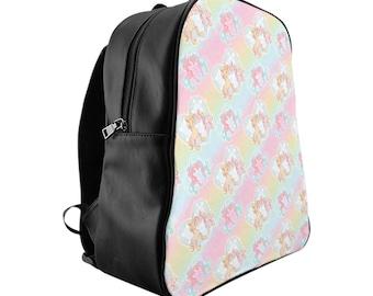 Pastel Unicorn Backpack, Unicorn Backpack, Unicorn, Backpack, Back To School, Unicorn Bag, Toddler Backpack, Girls Backpack, School Bag.