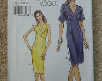 Vogue pattern V8178Very easy Vogue Size  14-16-18-20