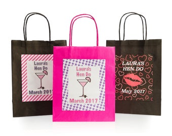 Personalised Party Bags (Pack of 10)