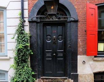 Dennis Severs house - front door