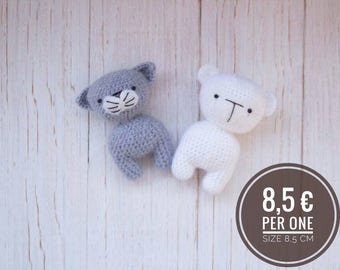 Teddy Cat Bunny 8,5 cm
