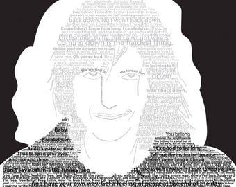 Tom Petty with lyrics