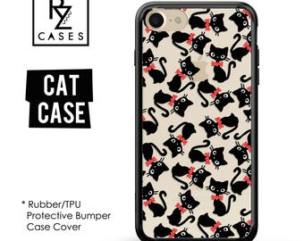 Panda Phone Case, Cute Phone Case, Panda iPhone Case, iPhone 7, Animal, Gift for Her, iPhone 7 Plus, iPhone 6S, Rubber Case, Bumper
