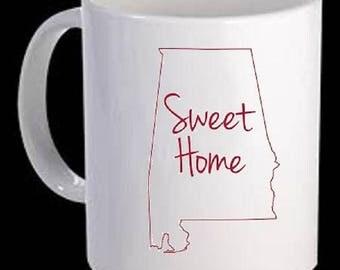 Alabama State coffee mug