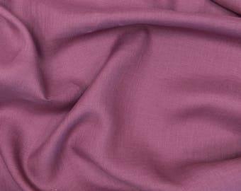 Linen Fabric Purple Softened, (125g/m2) Lightweight linen