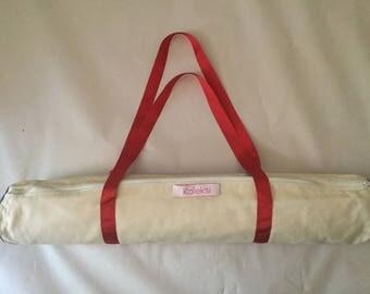 Cotton Canvas Yoga Mat Bag