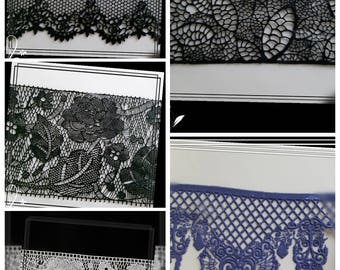 Pie-deco, ready-to-use cake-lace for cakes, cakes, cupcakes, biscuits or muffins