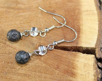 Dew Drop, Aromatherapy Earrings
