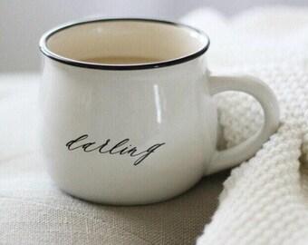 Darling Coffee Mug, Coffee Cup