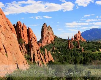 Garden of the Gods, Colorado Springs Colorado Picture