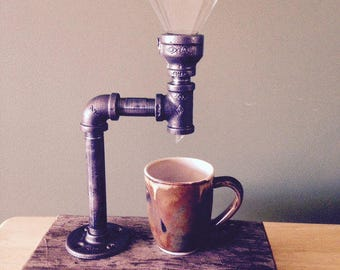 Pipe Fitting Vintage Coffee Maker