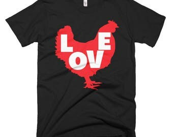 Love Chicken Short-Sleeve T-Shirt