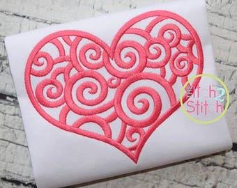 Swirl Valentines Day Shirt